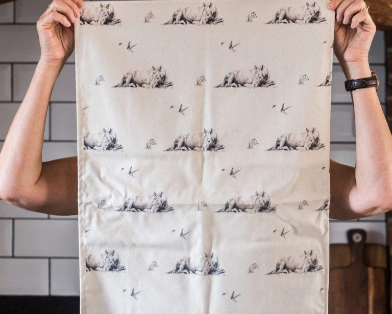 'Spring Dreaming' Tea Towel