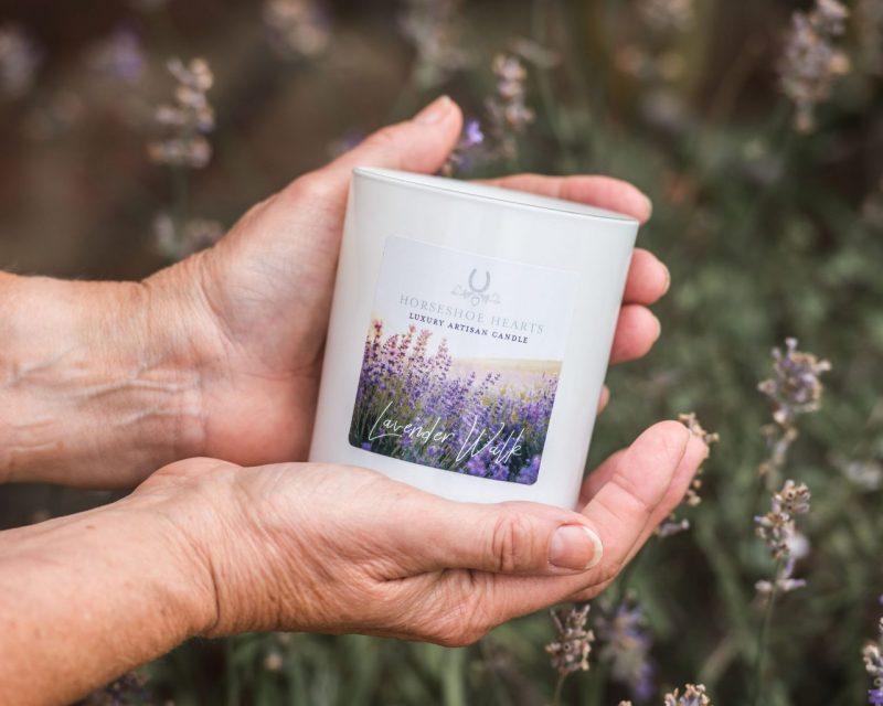 Lavender Walk Luxury Artisan Candle