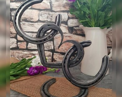 'Balance' Horseshoe Sculpture