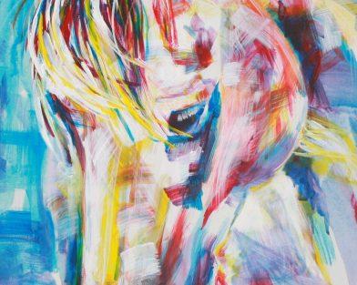 Grace Rainbow Horse Art Print