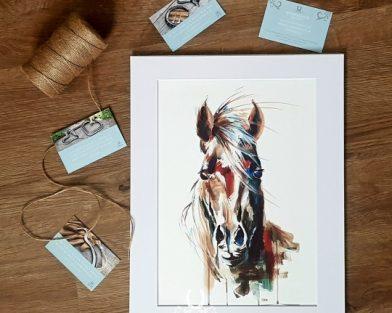Arabian Horse Equestrian Print