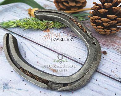 Braided Horsehair Horseshoe
