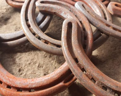 Used 'Lucky' Horseshoes for Art & Craft