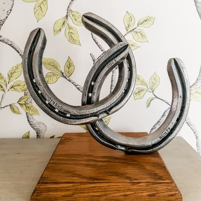 Hoofprints Mini Sculpture