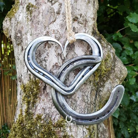 Love & Luck Horseshoe Heart Keepsake