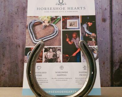 Horseshoe Letter Rack