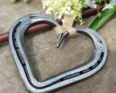 Original Horseshoe Heart Keepsake