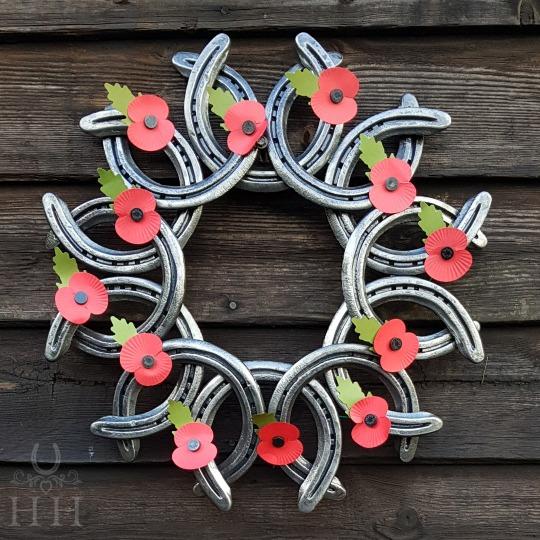 Horseshoe Sun Wreath