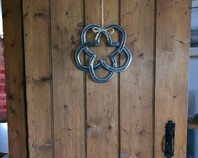 Horseshoe Five Pointed Star