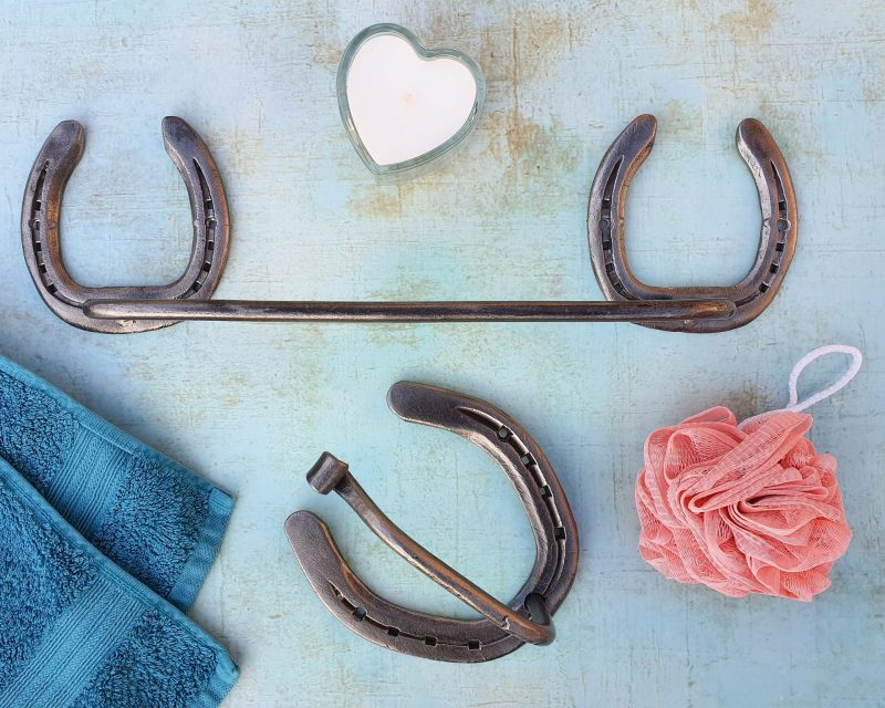Horseshoe Hand Towel Rail