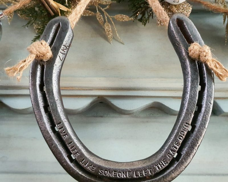 Clean, Restore and/or add a Quote to a Lucky Horseshoe