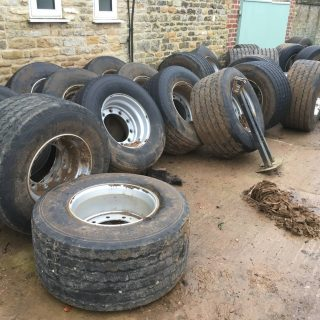 DOUBLE COIN 435/50R 19.5 TYRES