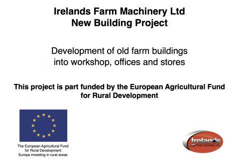 Ireland's Farm Machinery Ltd – New Building Project