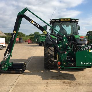 SPEARHEAD TWIGA 595 HEDGECUTTER FOR HIRE