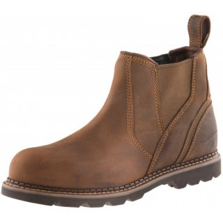 BUCKLER BOOTS SAFETY DEALER BOOT WAXED BROWN