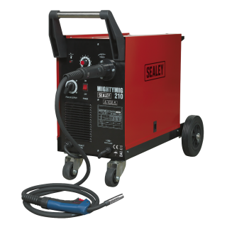 PROFESSIONAL MIG WELDER GAS/NO-GAS 210A WITH EURO TORCH