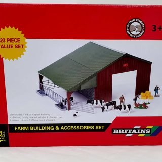 FARM BUILDING SET 1:32 BRITAINS 43139A1