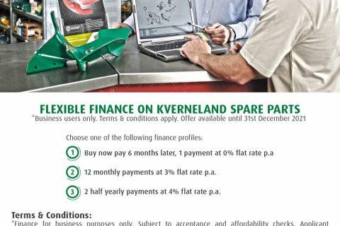 Kverneland Spare Parts Finance