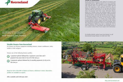 Kverneland Grass Products Finance