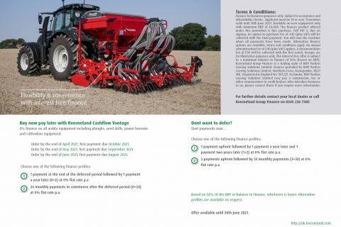 Kverneland Arable Products Finance
