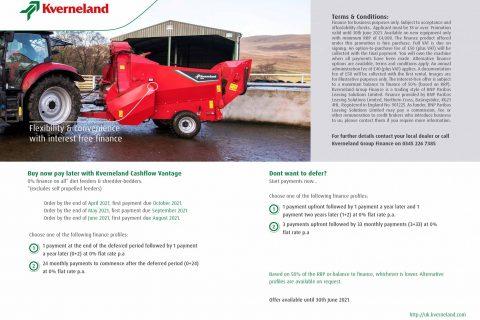 Kverneland Feeding & Bedding Finance