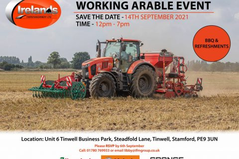WORKING ARABLE EVENT – 14TH SEPTEMBER 2021