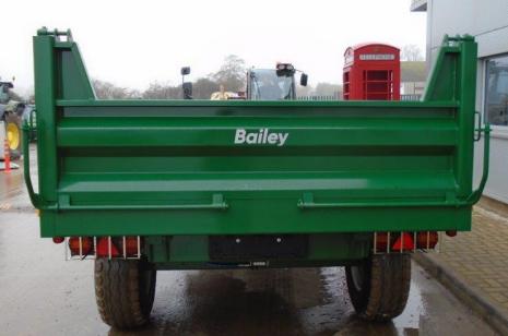 BAILEY DROPSIDE DS4 TRAILER