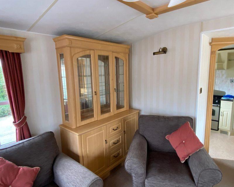 Atlas Oakwood Super 37ft x 12ft x 1 Bedroom DOUBLE GLAZED & CENTRAL HEATED