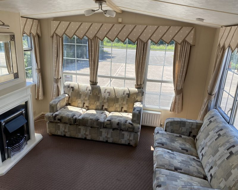 Cosalt Vienna Super Comfort + 38ft X 12ft X 2 Bedrooms DOUBLE GLAZED & GAS CENTRAL HEATED