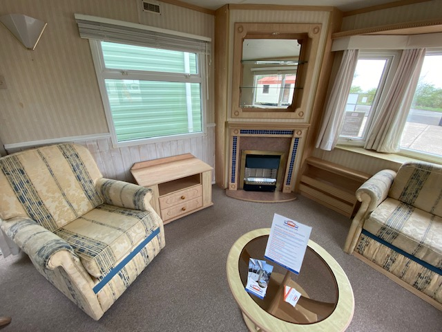 Willerby Canterbury 37ft X 12ft DOUBLE GLAZED & CENTRAL HEATED