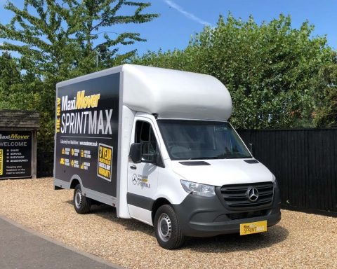 Mercedes SprintMAX 3.5M x 2.5M Medium Roof Low Floor Van