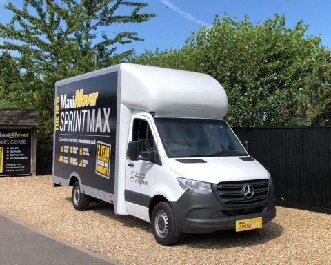 Mercedes SprintMAX 3.5M x 2.5M Medium Roof Low Floor Van