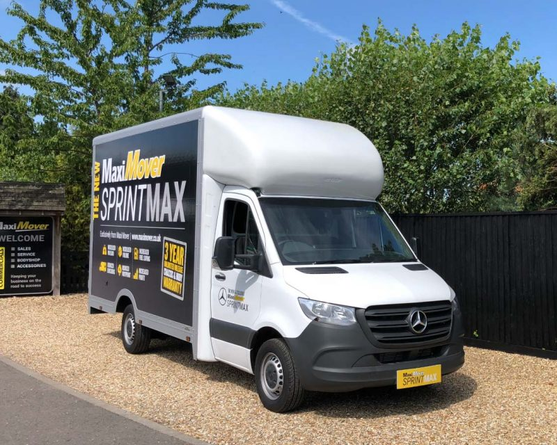 Mercedes SprintMAX 4.5M x 2.5M High Roof Low Floor Van