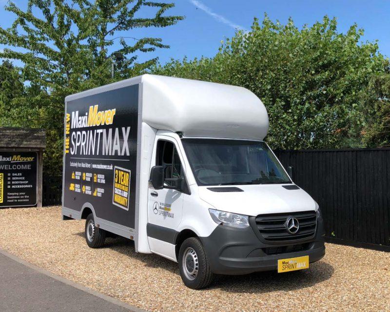 Mercedes SprintMAX 4.5M x 2.5M High Roof Low Floor Van