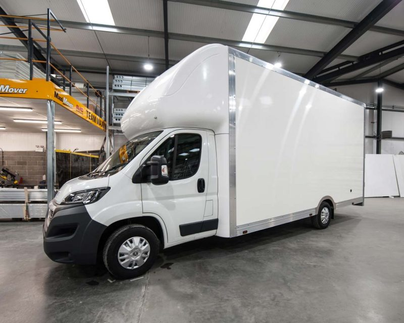 Peugeot BigMAX 5.1M x 2.7M Wide-Trak Extra-High Roof