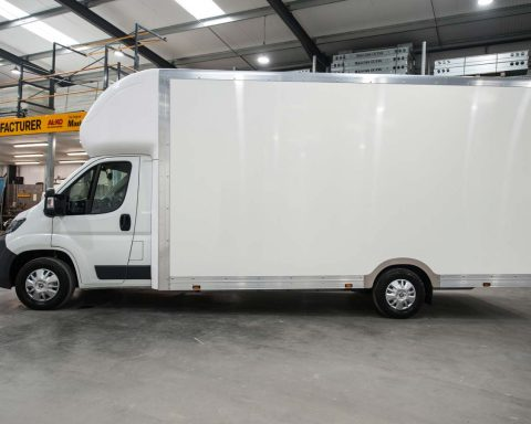 Fiat BigMAX Extra-High Roof With Tail Lift