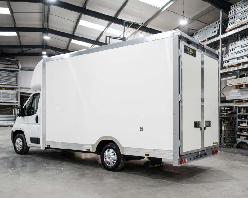 Peugeot JumboMAX 4.5M x 2.5M Wide-Trak High Roof