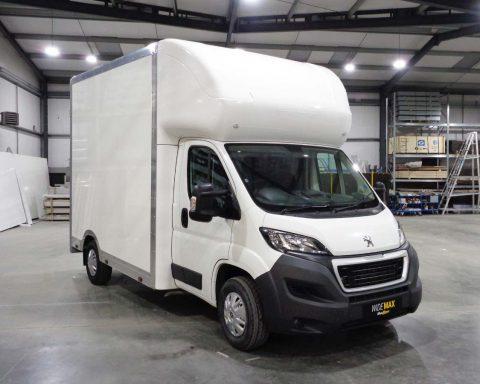 Peugeot LittleMAX 3.5M x 2.7M Wide-Trak High Roof
