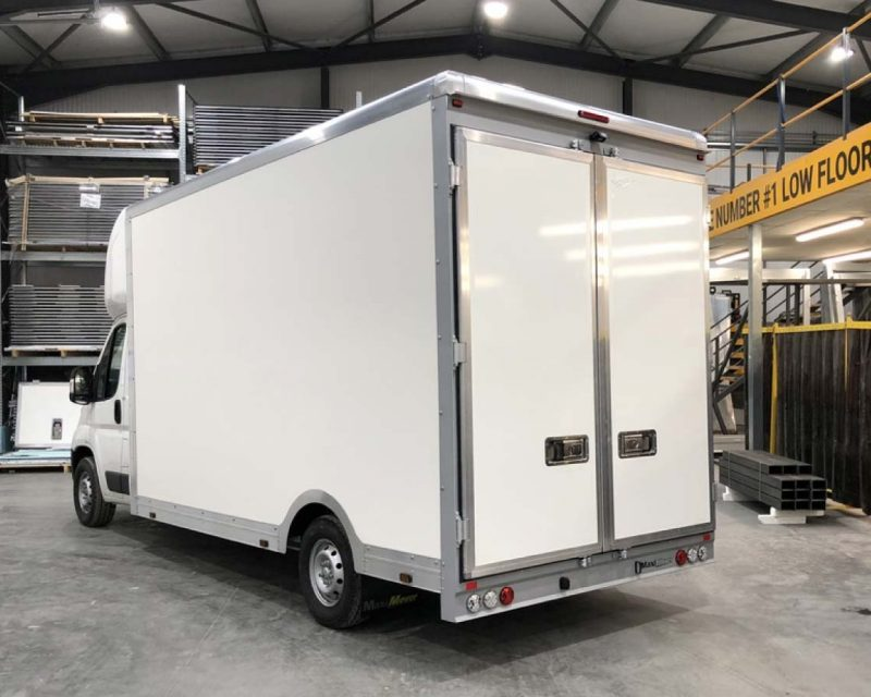 Fiat CityMAX 4.1M x 2.7M Wide-Trak High Roof