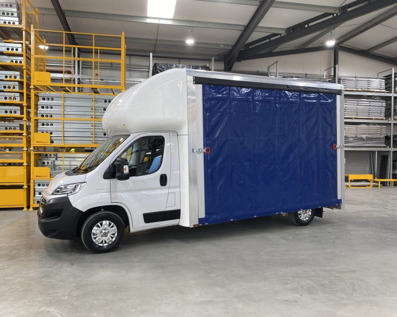 Fiat JumboMAX Curtainslider 4.5M x 2.5M High Roof