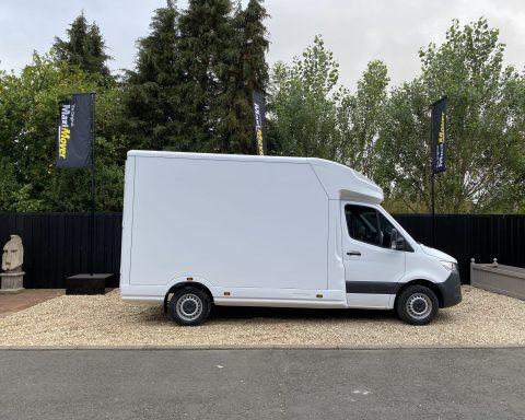 Mercedes SprintMAX GT 3.5M x 2.3M Medium Roof Low Loader Luton Van