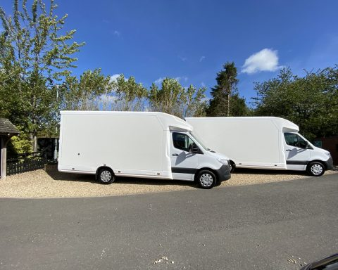 Mercedes SprintMAX GT 4.1M x 2.3M Medium Roof Low Loader Luton Van