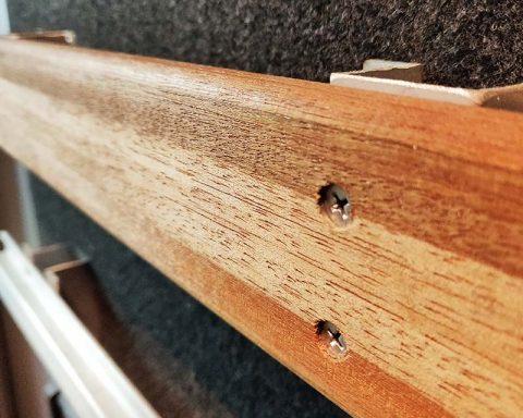 Hardwood Lashing Rails