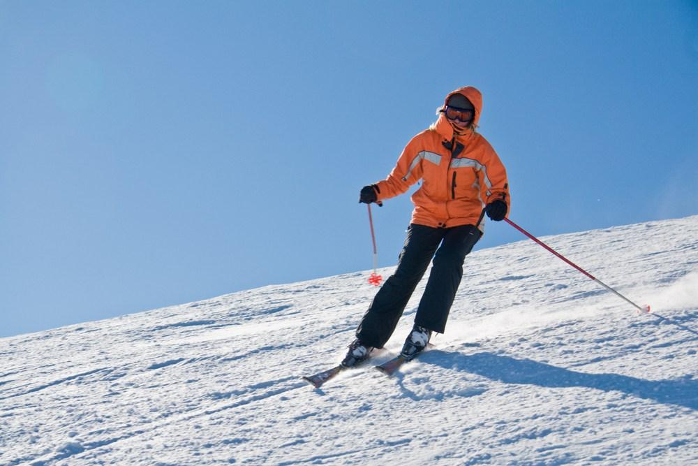 Spring Skiing is Best!