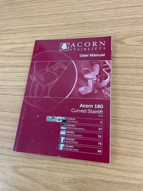 Acorn 180 user manual