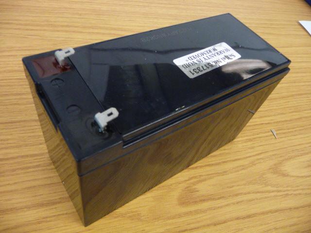 Battery 12 Volt 7AH FR – T1- click for fitments