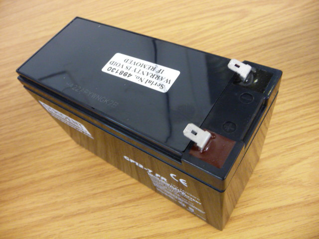 Battery 12 volt 7 Ah -FR -Strident – T2- click for fitments