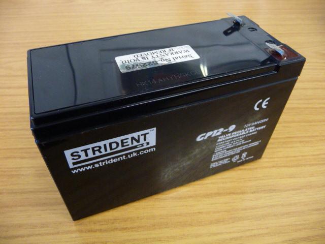 Battery 12 Volt 7 (9)AH – Strident Heavy Duty