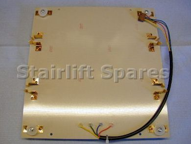 Standard Footrest PCB Assy - Bison 50/80 Acorn 80