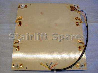 Standard Footrest PCB Assy – Bison 50/80 Acorn 80